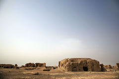 The Ruins Of Jiaohe Stock Photo