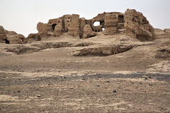 The Ruins Of Jiaohe Royalty Free Stock Photography
