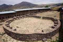 Free The Ruins Of The Ancient Civilization Of Wari, Near Ayacucho In Royalty Free Stock Photo - 63770005