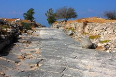 Free The Ruins Of The Decapolis City Susita Royalty Free Stock Images - 7235799