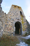 The Ruins Of The Medieval St Peter S Church. Sigtuna, Sweden Royalty Free Stock Photos