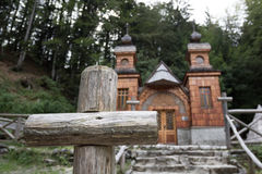 Free The Russian Chapel, Slovenia. Royalty Free Stock Image - 27051916