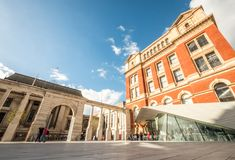 Free The Sackler Courtyard, Victoria And Albert Museum, London Stock Photo - 120554750
