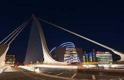 The Samuel Beckett Bridge Stock Photography