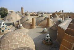 Free The Scenic Brick Domes Of Qasemi Bathhouse, Kashan, Iran. Stock Images - 179701924