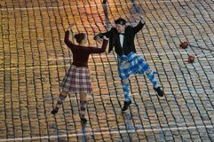 The School Of Scottish Dance Shady Glen Stock Photography