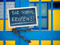 THE SCHOOL REOPENS
