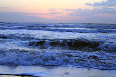 The Sea At Sunset Stock Image