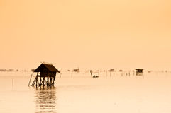 The Sea Hut Royalty Free Stock Photography