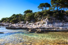 The Sea In The Sveti Nikola Island Stock Image