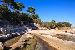 The Sea In The Sveti Nikola Island Royalty Free Stock Images