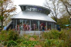 Free The SeaGlass Carousel Is A Fish-themed Carousel In Battery Park At The Southern Tip Of Manhattan Royalty Free Stock Photography - 163434767