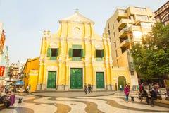 Free The Senado Square In Macau, China Stock Image - 56688011