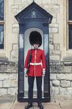 The Sentry Of The Jewel House At Waterloo Block Building Inside Tower Of London, England Royalty Free Stock Photography