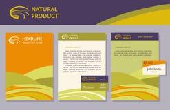 Free The Set Of Proprietary Elements, Logo, Folder Royalty Free Stock Images - 50063219