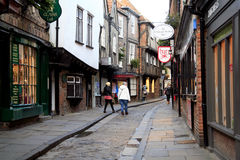 The Shambles, York. Royalty Free Stock Photos