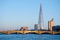The Shard In London 2013 Stock Photography