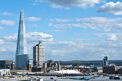 The Shard In London 2013 Stock Images