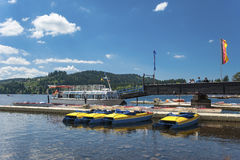 Free The Ship Mooring In Titisee Neustadt Royalty Free Stock Image - 64660926