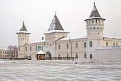 Free The Shopping Courtyard In The Tobolsk Kremlin Royalty Free Stock Photo - 17120345
