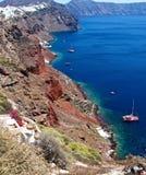 The Shores Of The Island Of Santorini. Royalty Free Stock Photos