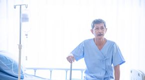 Free The Sick  Or Elderly Asian Man In The Hospital Or Healthcare Stock Photo - 153308430