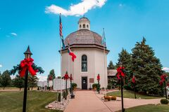 Free The Silent Night Memorial Chapel In Frankenmuth Michigan Royalty Free Stock Photography - 181066797