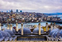 Free The Sky Over Istambul Royalty Free Stock Photo - 160231975