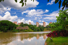 Free The Sleepy Little River_xishuangbanna_yunna Stock Photo - 29310840