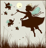 The Small Fairy Royalty Free Stock Photo
