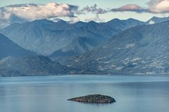 Free The Small Island Surrounded By Giants Stock Images - 131487194