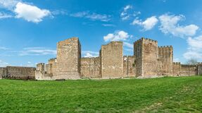 Free The Smederevo Fortress Is A Medieval Fortified City In Smederevo, Serbia. Stock Photos - 178428563