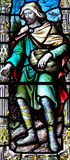 The Sower In Stained Glass Royalty Free Stock Photo