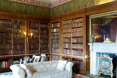 Free The Spanish Library At Harewood House. Stock Photo - 192214020