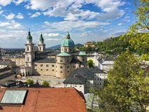 Free The Sphaera In Salzburg In Austria Royalty Free Stock Images - 141658739
