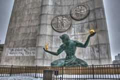 The Spirit Of Detroit Monument Stock Images