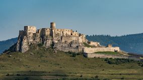 Free The Spis Castle - Spissky Hrad National Cultural Monument UNESC Royalty Free Stock Photography - 124766037