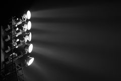 The Stadium Spot-light Tower Stock Photography