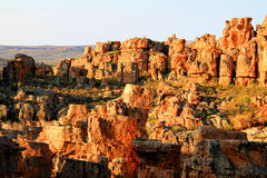 The Stadsaal Caves Landscape In The Cederberg, South Africa Stock Photography