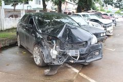 Free The State Of A Decayed Car That Be Inoperable Thing. Stock Image - 125009791