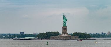 The Statue Of Liberty In New York City Stock Photos