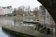 Free The Stone Bridge In Regensburg Stock Image - 108608441