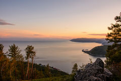 Free The Stone Of Chersky. Baikal, Listvyanka. Stock Photo - 96546820