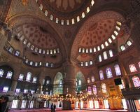 Free The Sultan Ahmed Mosque - Blue Mosque Of Istanbul Royalty Free Stock Image - 4258086