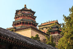 The Summer Palace In The City Of Beijing Stock Photos
