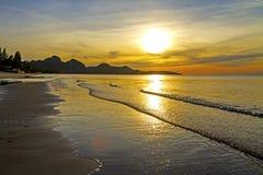 The Sun Idyllic Morning Stock Photography