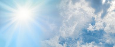 Free The Sun Is Always Shining Behind The Clouds Stock Photo - 141392510