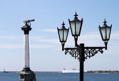 Free The Sunken Ships Monument Royalty Free Stock Photography - 18597997