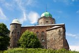 The Swedish Castle Of Vyborg Royalty Free Stock Photos
