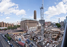 The Tate Modern Project Panoramic Stock Images